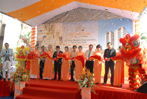 Lễ cất nóc và khai trương căn hộ mẫu TDH - Phước Long