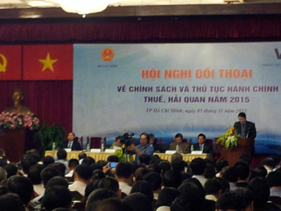 TDH tham dự hội nghị: Đối thoại giữa Bộ Tài chính và Doanh nghiệp