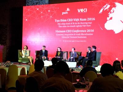 TDH tham dự toạ đàm CEO Việt Nam 2016
