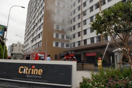 Diễn tập cứu nạn cứu hộ tại chung cư Citrine Apartment Quận 9