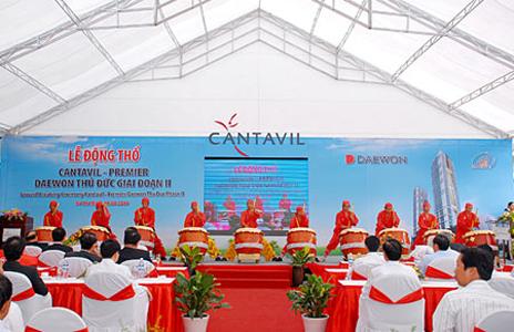Daewon - Thủ Đức động thổ dự án CANTAVIL PREMIER