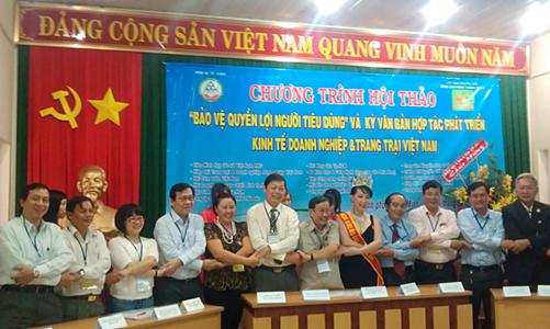 TDH ký văn bản hợp tác trong Chương trình phát triển kinh tế DN & trang trại VN