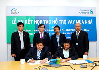 TDH và Standard Chartered ký kết hợp tác