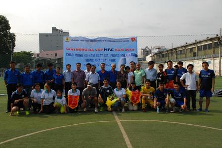 2 giải bóng đá mini: Thuduc Agromarket và Hfic-2015