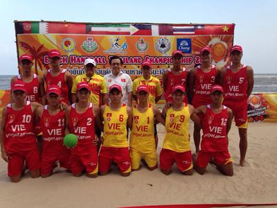 [Tường thuật] Giải Bóng ném bãi biển quốc tế Thái Lan từ 21.4.2014 đến 25.4.2014