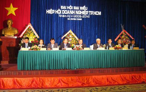 Đại hội Đại biểu HIỆP HỘI DOANH NGHIỆP TP.HCM nhiệm kỳ V (2009-2014)