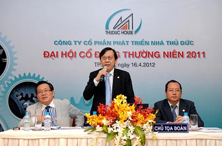 TDH tổ chức thành công Đại Hội Cổ Đông thường niên năm 2011