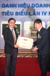 Ông Lê Chí Hiếu - Doanh nhân Việt Nam tiêu biểu