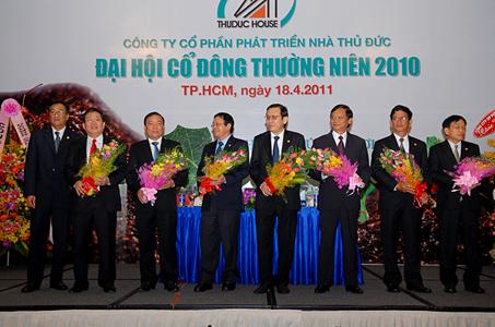 TDH: Tổ chức thành công ĐHCĐ thường niên năm 2010