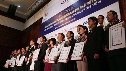 Thuduc House: Top 500 Doanh nghiệp tăng trưởng nhanh nhất Việt Nam 2010