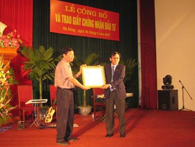 PPI đầu tư dự án cụm Công Nghiệp Đồng Mai - TP Hà Đông