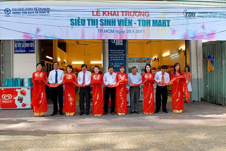 TDH Good Goods khai trương siêu thị Sinh Viên đầu tiên