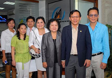 ThuDuc House đón tiếp Nguyên Phó Chủ Tịch Nước Trương Mỹ Hoa
