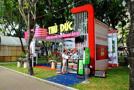 Lễ hội TP.HCM đón chào năm mới 2012