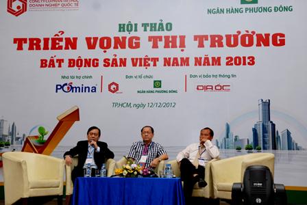 Hội thảo: Triển vọng thị trường bất động sản (BĐS) Việt Nam năm 2013