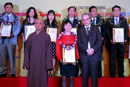 TDH tiếp tục được bình chọn TOP 500 doanh nghiệp lớn nhất Việt Nam