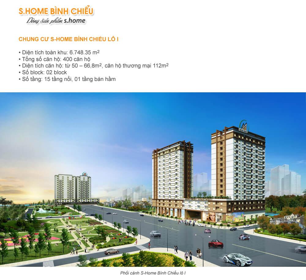 Chung cư S-Home Bình Chiểu lô I