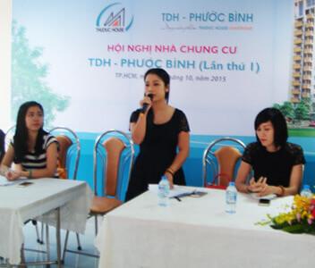 Chung cư TDH – Phước Bình: Tổ chức thành công Hội nghị Nhà chung cư lần thứ nhất