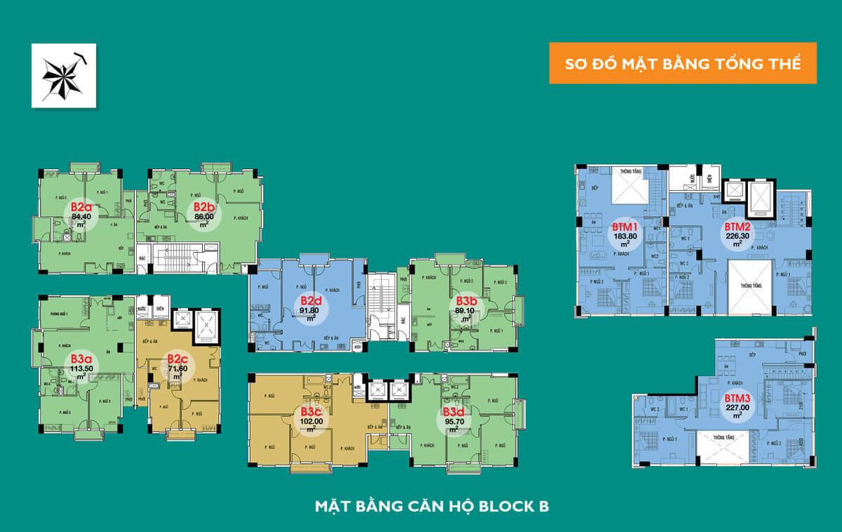 Căn hộ Block B